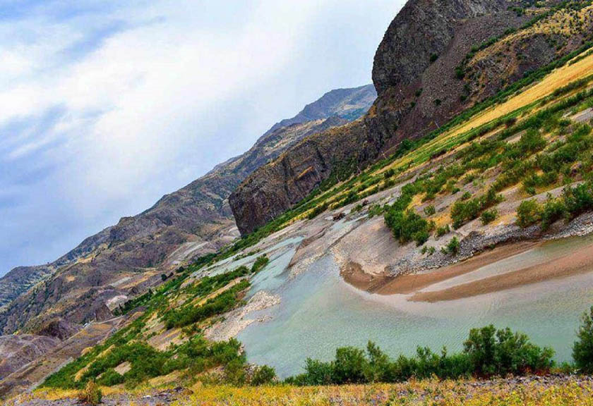 رودخانه قزل اوزن زنجان