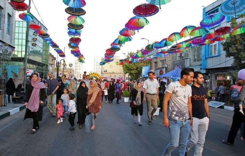 پیاده راه سبزه میدان زنجان